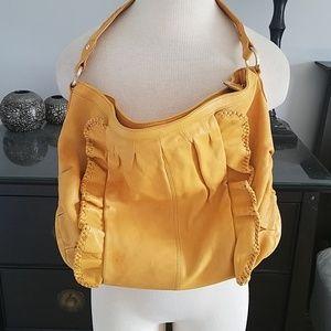 Butter leather handbag